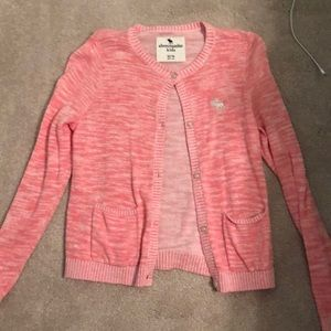 pink sweater from abercrombie kids 13 hardly worn